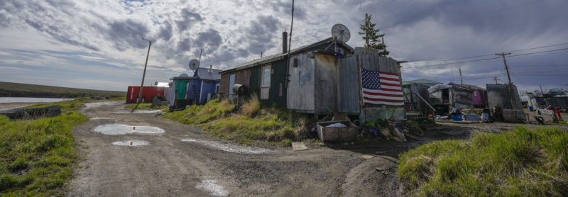 Alaskan home.