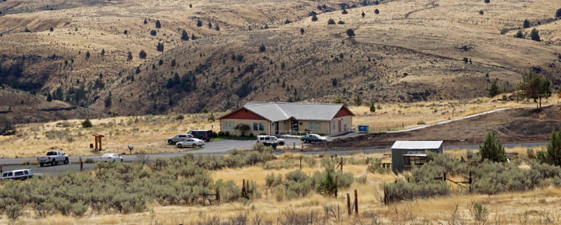 The Deschutes Rim Health Clinic in Maupin, Oregon.